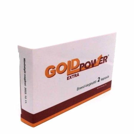 Gold Power Extra potencia növelő kapszula 2 db - személyes átvét Bp. XIII. vagy szállítással