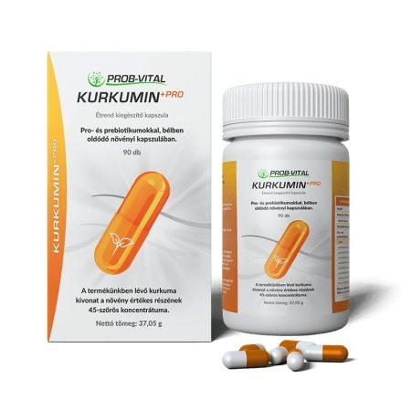 Kurkumin+Pro 3 havi adag 90 kapszula a Prob-Vitaltól