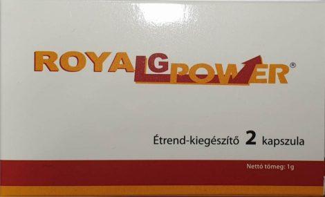 Gold Power potencia növelő kapszula 2 db - személyes átvét Bp. XIII. vagy szállítással
