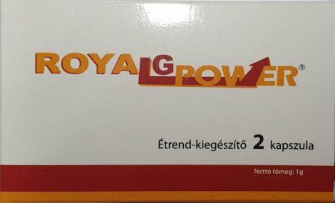 Royal G Power potencia növelő kapszula 2 db - személyes átvét Bp. XIII. vagy szállítással