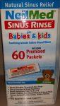 Orrmosó NeilMed Sinus Rinse 60 tasak sókeverék (4-9 éveseknek)