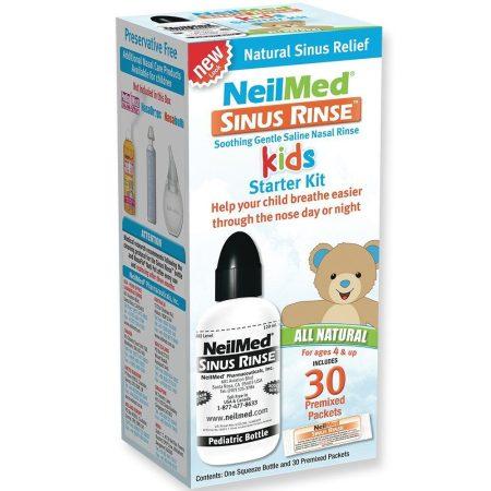 Orrmosó NeilMed Sinus Rinse orr irrigátor gyermek szett 30 tasakkal (4-9 éveseknek)
