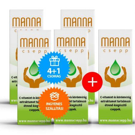 Manna Csepp 4+1 db ingyenes szállítással