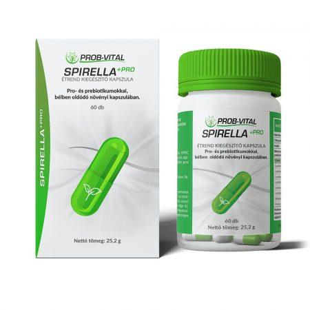 Spirulina+Pro a Prob-Vitaltól 90 kapszula 3 havi adag