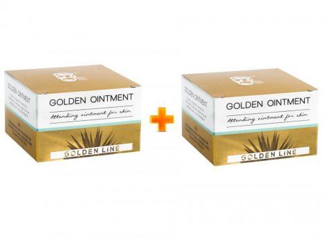 GOLDEN OINTMENT kenőcs 2 DOBOZ pikkelysömör ekcéma akné mélytisztítás (2x50ml)
