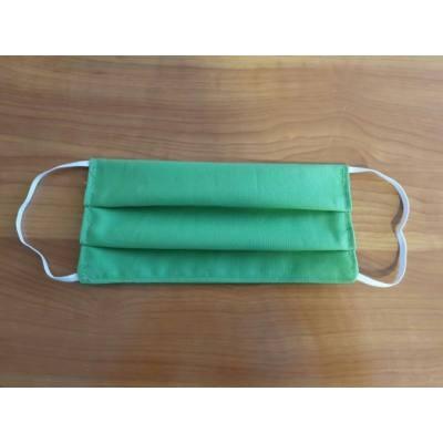 Szájmaszk mosható, higiéniás, többször használható - zöld